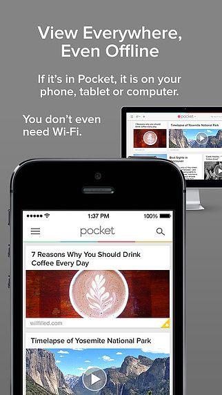 Pocket: Sauvegardez articles et vidéos pour plus tard pour mac