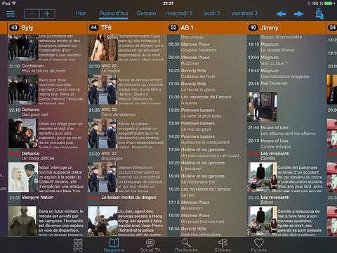 SoTV HD, programme TV pour mac