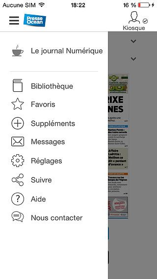 Presse Océan - Journal pour mac