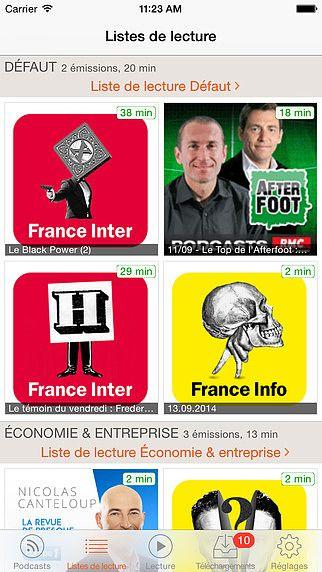 RSSRadio Téléchargeur de Podcasts pour mac