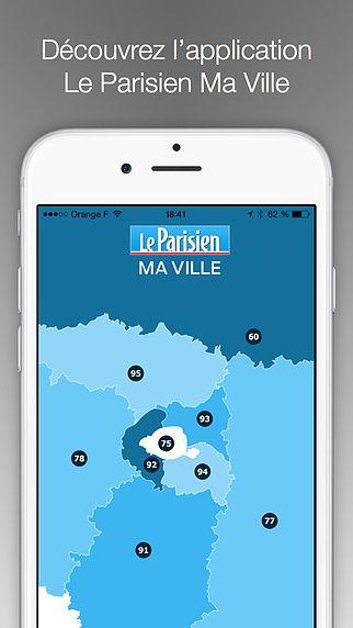 Le Parisien Ma Ville, actualité locale de votre région ou votre  pour mac