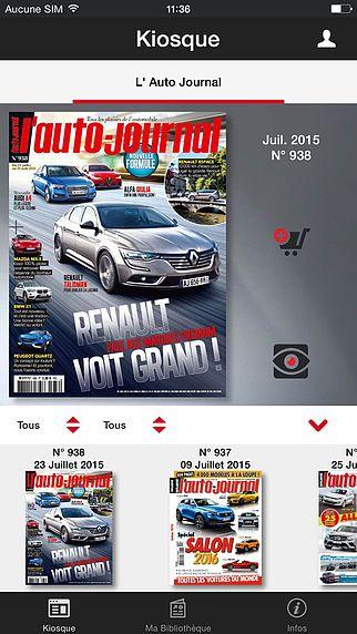 L'Auto-Journal Magazine pour mac