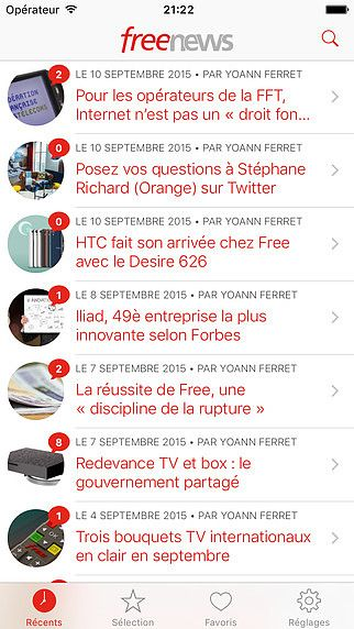Freenews pour mac