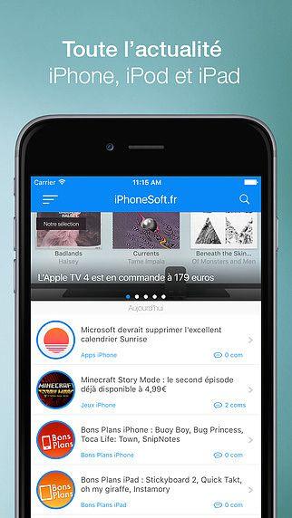 ISoft (actu, bons plans, jeux, apps, rumeurs) pour mac