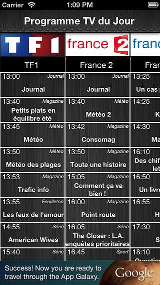 Programme Télé France : La Meilleure App de Programmes TV ! pour mac