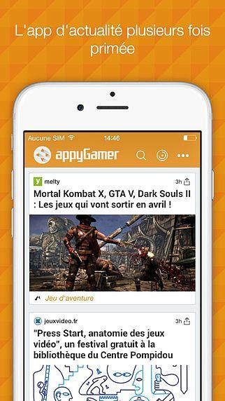 Appy Gamer - L'actu des jeux vidéo pour mac