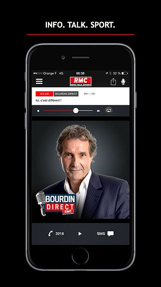 RMC : Info Talk Sport pour mac