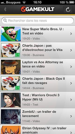 Gamekult Jeux Vidéo pour mac