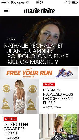 Marie Claire magazine toute l'actu mode, beauté et société pour mac