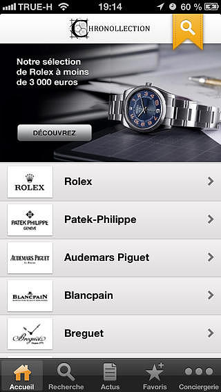 Chronollection, actualités et annonces de montres neuves et d'oc pour mac
