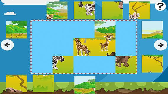 Puzzle du safari - Jeu de puzzles pour enfants en bas âge et les pour mac