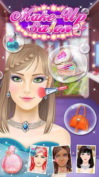 Maquillage Salon - Jeux de Filles pour mac