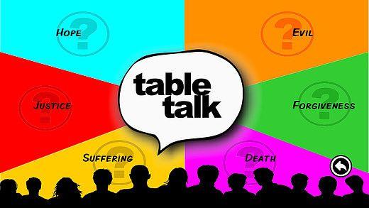 Table Talk à Pâques pour mac