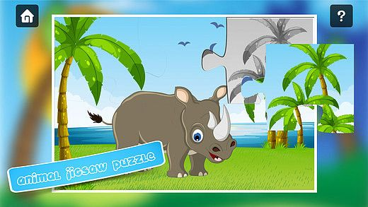 Safari animaux puzzle - puzzles mignons pour enfants en bas âge  pour mac