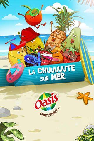 La chuuute sur mer by Oasis pour mac