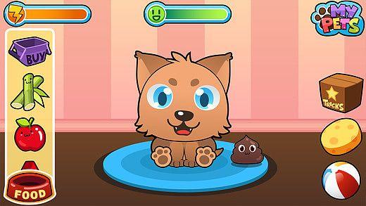 My Virtual Pet - Jeu Gratuit d'Animaux Mignons pour mac