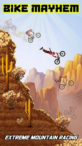 Bike Mayhem Mountain Racing Free by Best Free Games pour mac