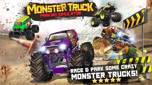 Monster Truck Parking Simulator - Gratuit Jeux de Voiture de Cou pour mac