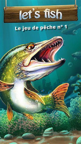 Let's Fish: Jeux de Pêche Gratuit pour mac