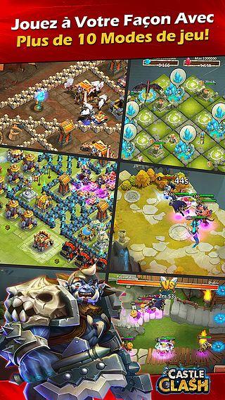 Clash de Châteaux:Castle Clash pour mac