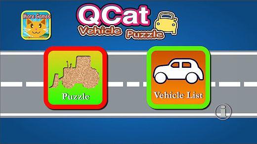 QCat - bambin jeu de puzzle véhicule (gratuit) pour mac