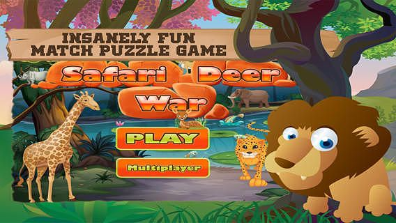 Safari Deer War Free - Super collapse  pour mac