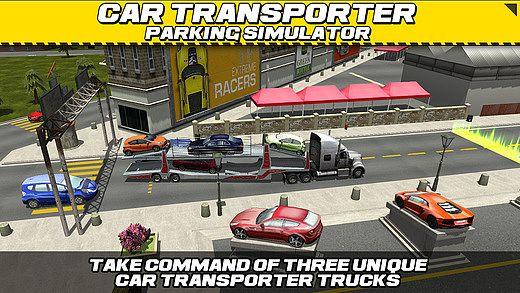 Car Transport Truck Parking Simulator - Gratuit Jeux de Voiture  pour mac