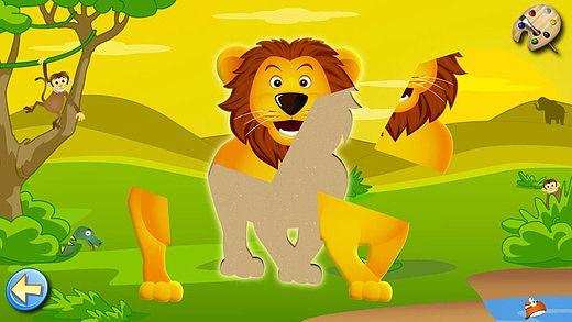 Savane - Puzzle, Couleurs et Dessins - Jeux pour Enfants - Lite pour mac