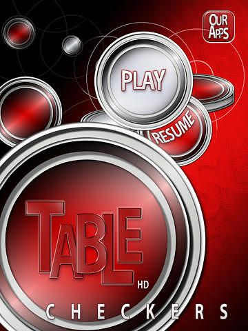Table Checkers HD pour mac