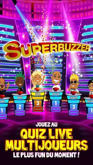 Superbuzzer : le jeu de Quiz de culture générale pour mac