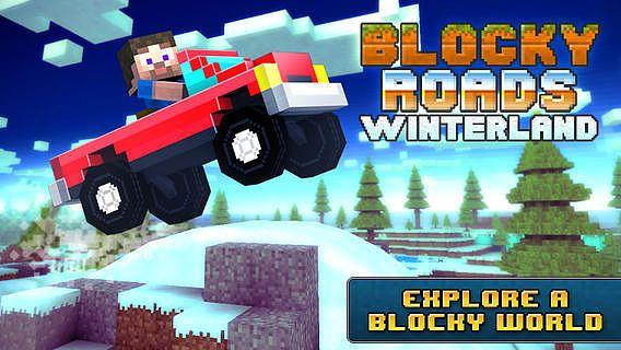 Blocky Roads Winterland pour mac