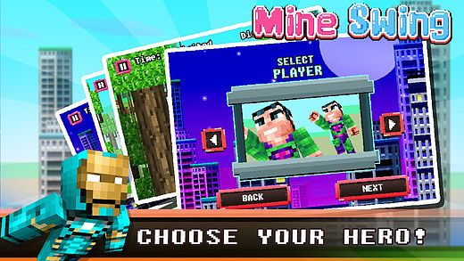 MineSwing- Multiplayer Plus Skins Pocket Game PE: MineCraft Edit pour mac
