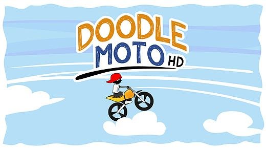 Télécharger Doodle Moto HD-Free Racing Games for All Kids