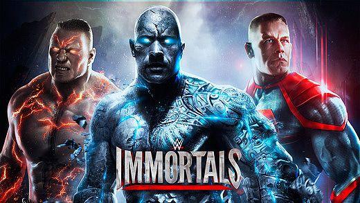 WWE Immortals pour mac