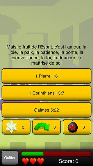 Quizz de la Bible pour mac
