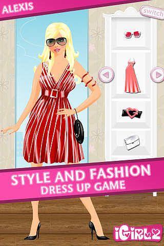 IGirlz Alexis - Dress Up Game pour mac