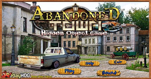 Abandoned Town - Free Hidden Object Game pour mac
