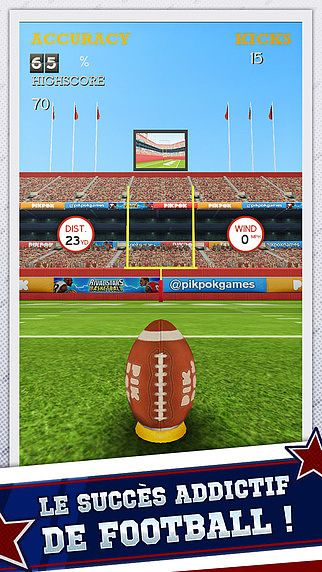 Flick Kick Field Goal Kickoff pour mac