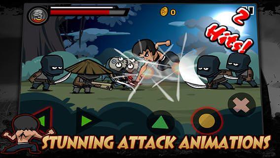 KungFu Warrior pour mac