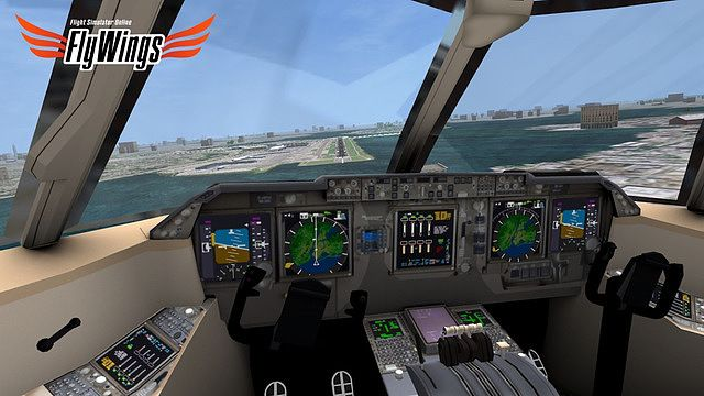 Flight Simulator FlyWings Online 2014 Free - New York pour mac