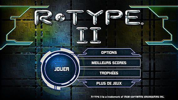 R-TYPE II pour mac