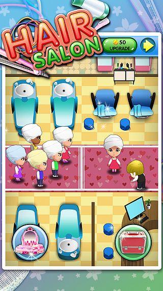 Salon de coiffure - Jeux d'enfants pour mac