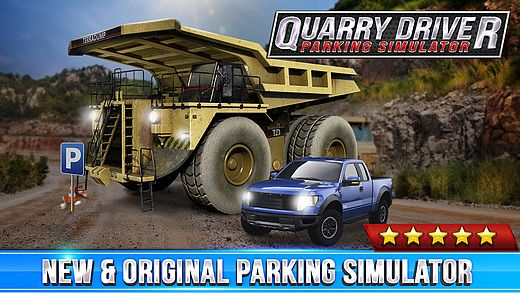 Quarry Driver Parking Game - Real Mining Monster Truck Car Drivi pour mac