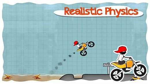 Doodle Moto HD-Free Racing Games for All Kids Adult on iPad iPho pour mac