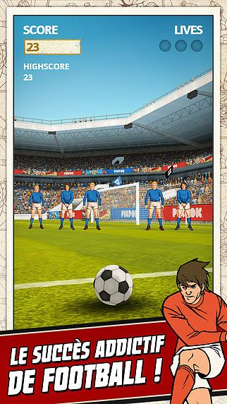 Flick Kick Football pour mac