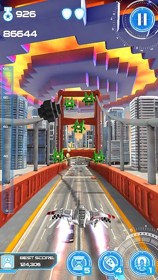 Jet Run: City Defender pour mac