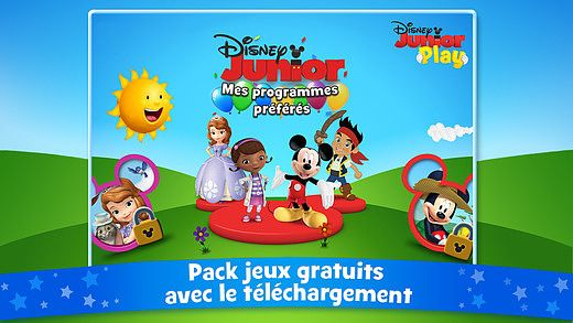 Disney Junior Play en Français pour mac
