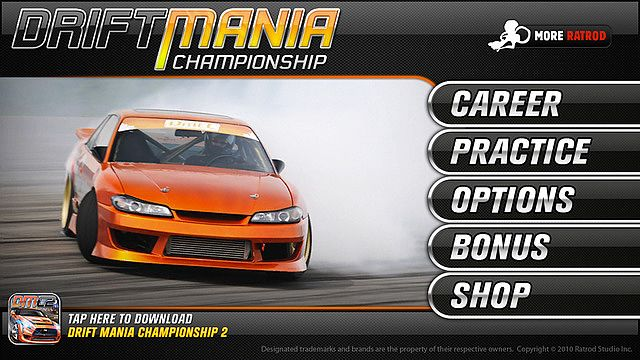 Drift Mania Championship Lite pour mac